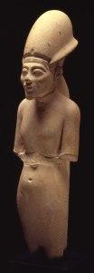 8. White Limestone Statue of Akhenaten