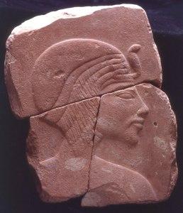 mansoor amarna akhenaten portrait fragment 2