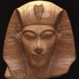 White Limestone Head of Akhenaten